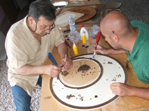 corso mosaico in legno