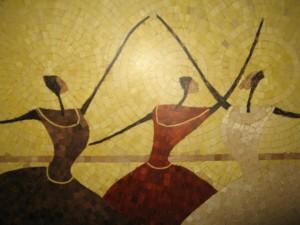 Particolare ballerine